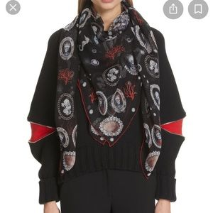 Authentic Alexander McQueen Lost At Sea Scarf